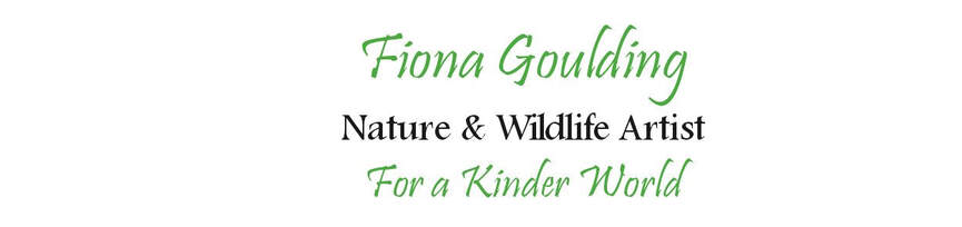 FIONA GOULDING Nature & Wildlife Artist For a Kinder World